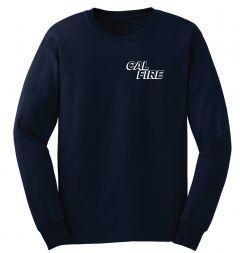 CAL FIRE Navy Duty Long Sleeve T-Shirt