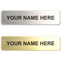"""5/8"""" Nameplate"""
