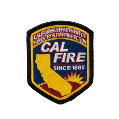 Small CAL FIRE Patch