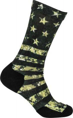 5.11 OD Green American Flag Sock