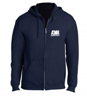 AMR Riverside Navy Full Zip Hoodie