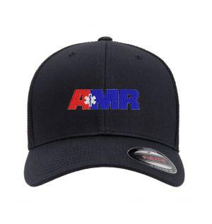 AMR San Bernardino Flexfit Trucker Mesh Hat Navy