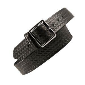 Duty Approved Belt Basketweave Silver 1 3/4