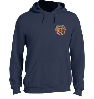 Benicia Fire Pullover Hoodie