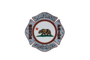 CAL Fire Bear Maltese Sticker