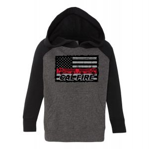 CAL FIRE Kid Strong Toddler Hoodie
