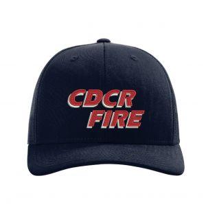 CDCR Fire Richardson 112 Trucker Hat
