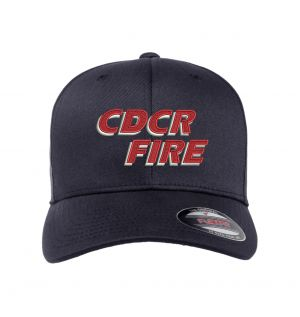 CDCR Fire Flexfit Wooly Combed Hat