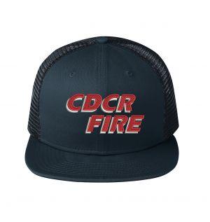 CDCR Fire New Era Snapback Trucker Hat