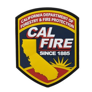 Large CAL FIRE PVC Patch