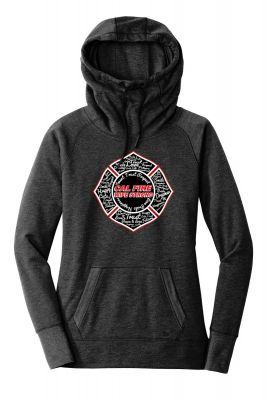 CAL FIRE Wife Strong Maltese Hoodie
