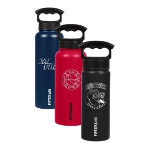 CAL FIRE Engraved Fifty/Fifty Waterbottle