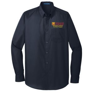 COD EMS Instructor Men's Long Sleeve Button Down Shirt