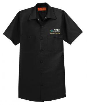 SJVC Electrical Technology Button Up Shirt