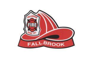 Fallbrook Helmet Sticker