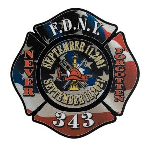 FDNY 911 Maltese Sticker