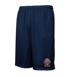 Federal Fire Mesh PT Shorts with Pockets