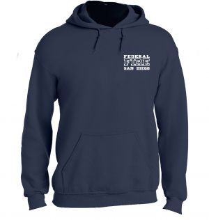 Federal Fire Pullover Hoodie
