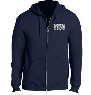 Federal Fire Full Zip Hoodie