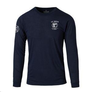 UC Davis Fire DFND FR Performance Long Sleeve T-Shirt