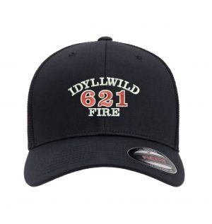 Idyllwild Fire Flexfit Trucker Mesh Hat