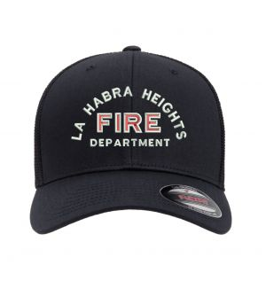 La Habra Heights Fire Flexfit Trucker Mesh Hat