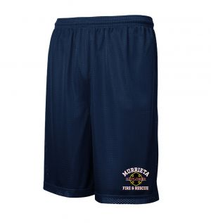 Murrieta Fire Explorers Mesh PT Shorts with Pockets