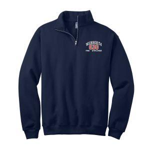 Murrieta Fire Explorers 1/4 Zip Sweater