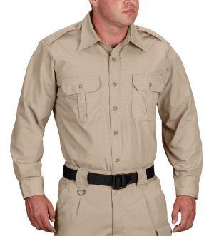 SJVC Criminal Justice Propper Long Sleeve Tactical Dress Shirt