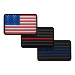 LA Patch Guy American Flag PVC Patch