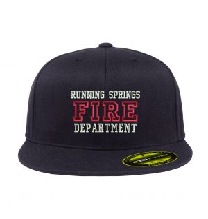 Running Springs Fire Flexfit 210 Fitted Hat