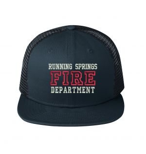 Running Springs Fire New Era Snapback Trucker Hat