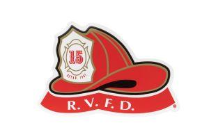 R.V.F.D. Helmet Sticker