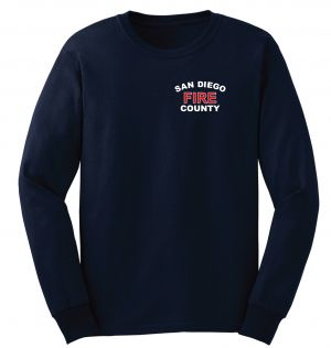 San Diego County Navy Duty Long Sleeve T-Shirt