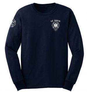 UC Davis Fire Student EMS Duty Long Sleeve T-Shirt