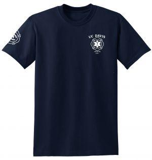 UC Davis Fire Student EMS Duty Short Sleeve T-Shirt