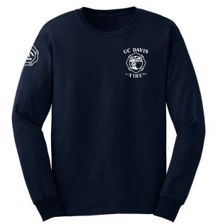UC Davis Fire Duty Long Sleeve T-Shirt