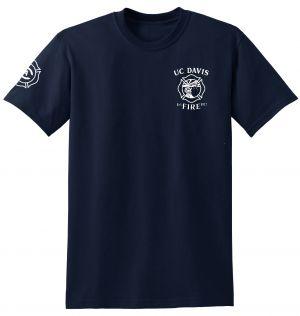 UC Davis Fire Duty Short Sleeve T-Shirt