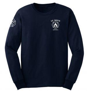 UC Davis Fire Student Duty Long Sleeve T-Shirt