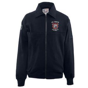 UC Davis Fire Game Sportswear Full Zip Workshirt