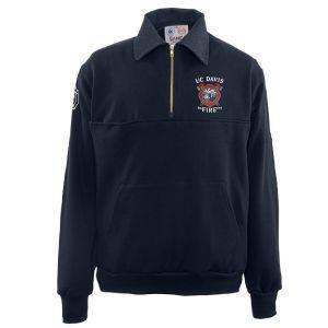 UC Davis Fire Game Sportswear Firefighter Workshirt