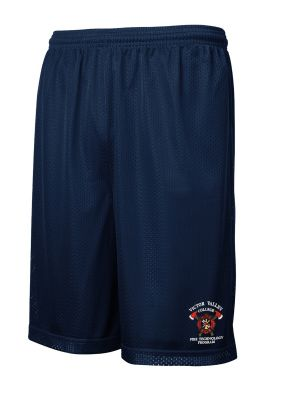 Victor Valley Fire Mesh PT Shorts with Pockets
