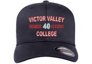 Victor Valley Paramedic Flexfit Wooly Combed Hat