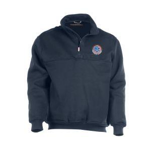Victor Valley Paramedic Liberty Quarter Zip Job Shirt