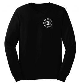 Barstow Fire Black Duty Long Sleeve T-Shirt