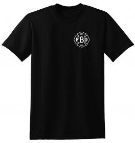 Barstow Fire Black Duty Short Sleeve T-Shirt